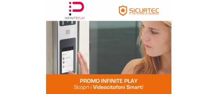 Videocitofoni smart InfinitePlay: scopri i modelli in offerta!