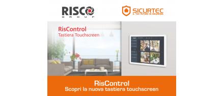 RisControl: scopri la nuova tastiera touchscreen di Risco!