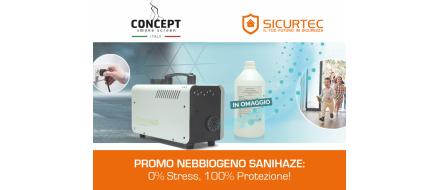 Nebbiogeno Sanihaze: scopri il prodotto per la sanificazione ambienti!